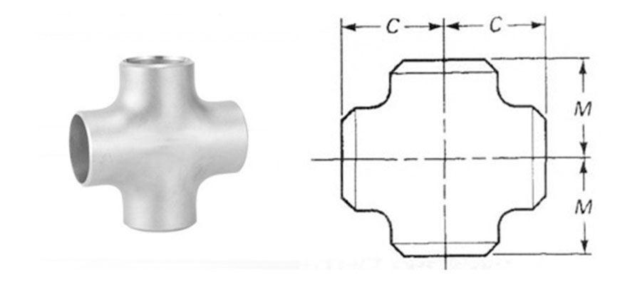 Buttweld Fitting Cross manufacturer india