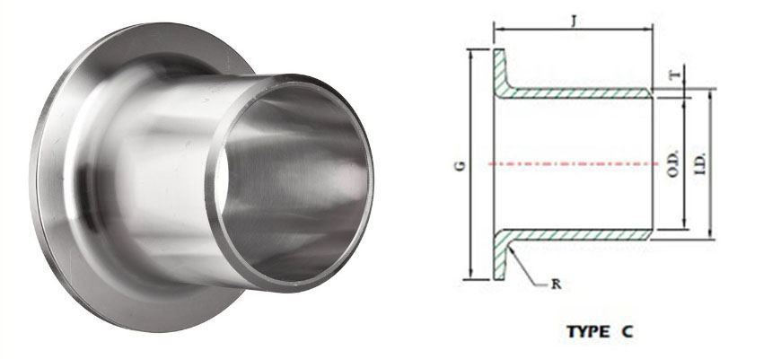 Pipe Fittings Stub Ends Lap Joints manufacturer india