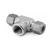 female branch tee tube fitting supplier