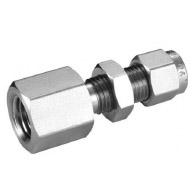 Bulk Head female connector tube fitting supplier