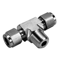 male branch tee tube fitting supplier