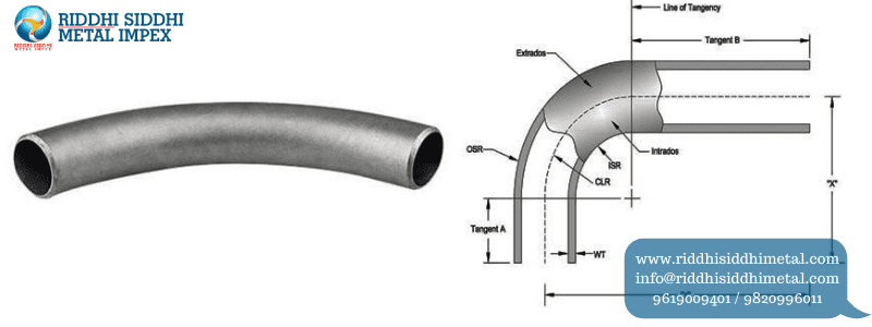 Buttweld Pipe Fittings Bends Manufacturers in India