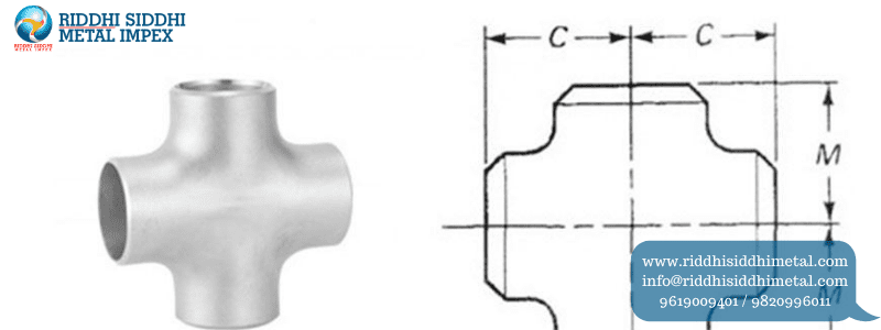 Buttweld Pipe Fittings Cross Manufacturers in India