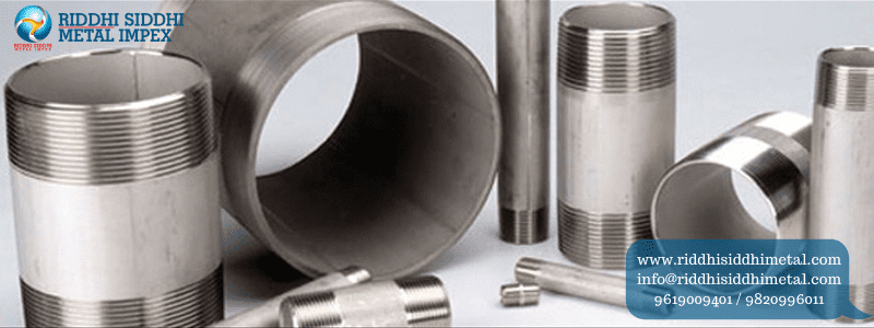 Buttweld Pipe Fittings Nipples Manufacturers in India