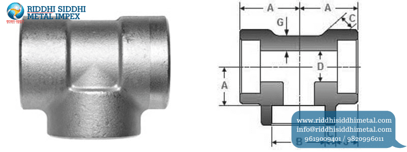 Buttweld Pipe Fittings Tee Manufacturers in India