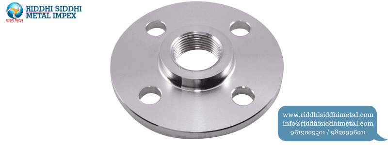 Screwed/Threaded Flanges manufacturers supplier in india