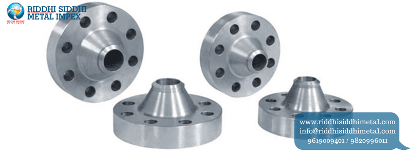 Weld Neck Flanges manufacturers supplier in india